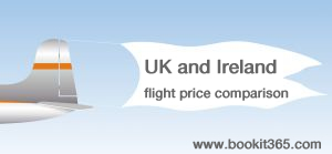 Cheap flights from airports in UK and Republic of Ireland